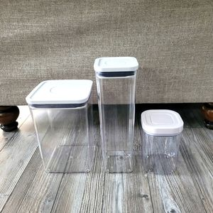 3x OXO Food Storage Containers